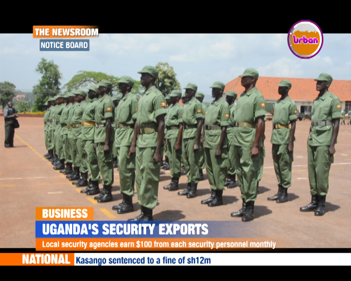 UGANDAS-SECURITY-EXPORTS | Urban TV Uganda
